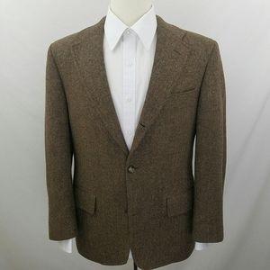 J. Press Suits & Blazers - Vtg J. Press Tweed Herringbone Blazer Wool Jacket